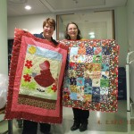 Quilt delivery at Evelina's