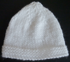 Premature baby hat
