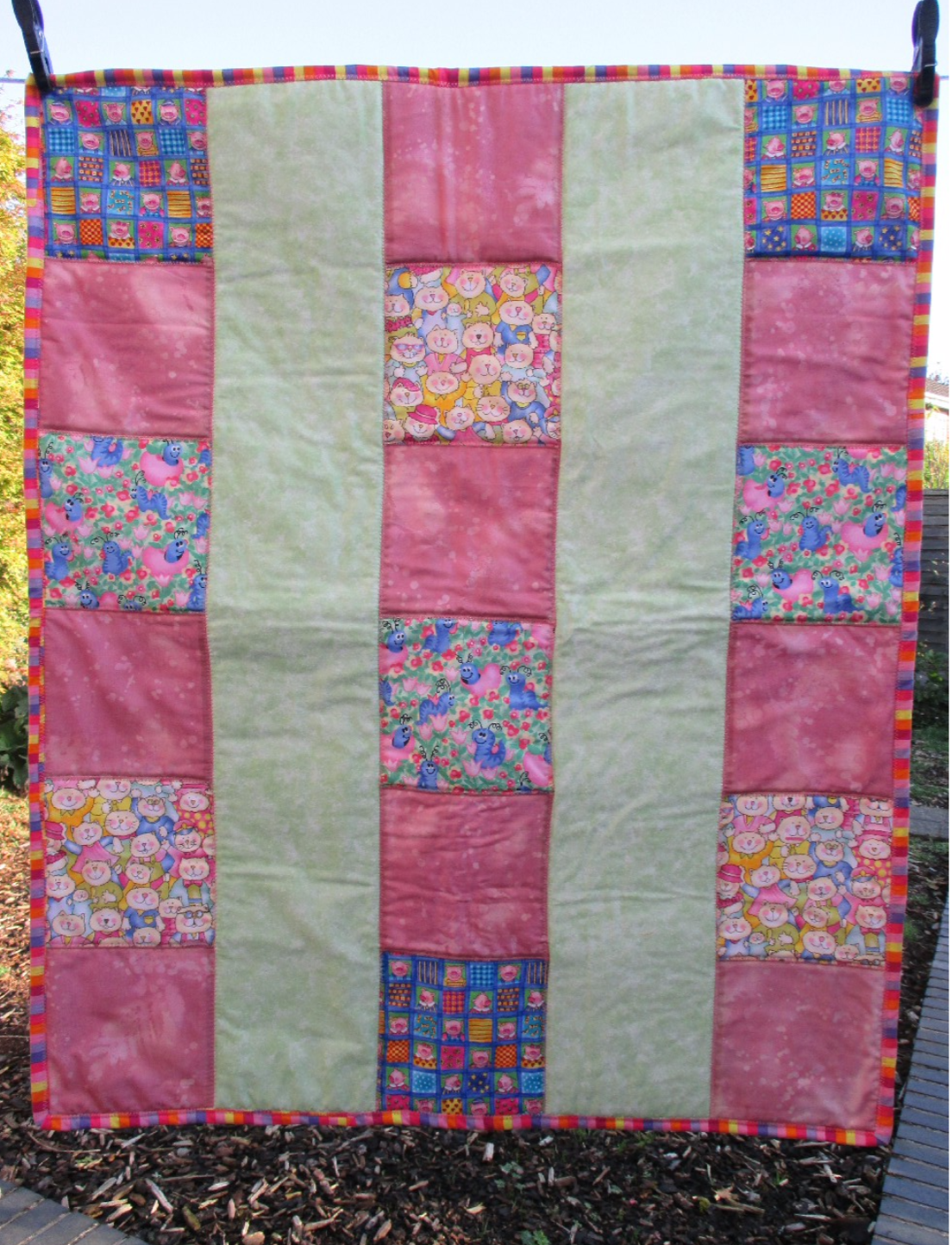 Quick scrappy quilt | Project Linus UK