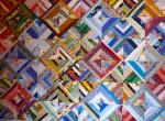 Lyn's scrap quilt